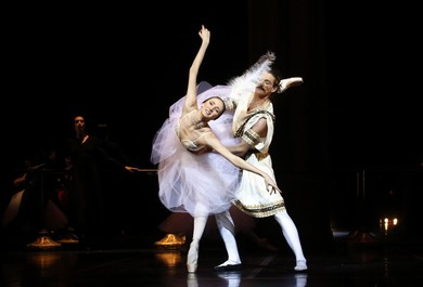 """Evening of one-act ballets: Maurice Bejart ""Gaite Parisienne"", George Balancine ""Symphony in C"""" Ballet<BR>"