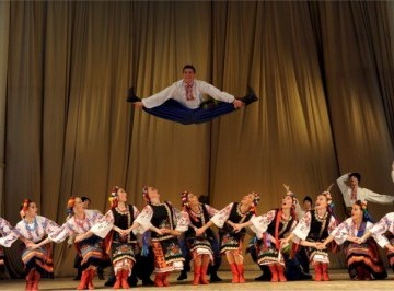 Igor Moiseyev State Academic Ensemble of Popular Dance Concert